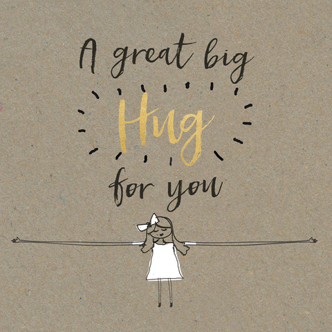 A Great Big Hug Card