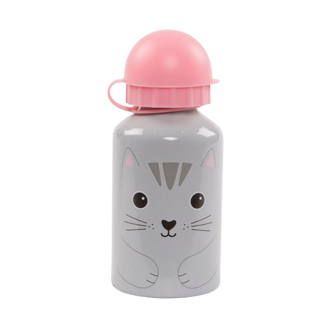 CUTE CAT KIDS WATER BOTTLE