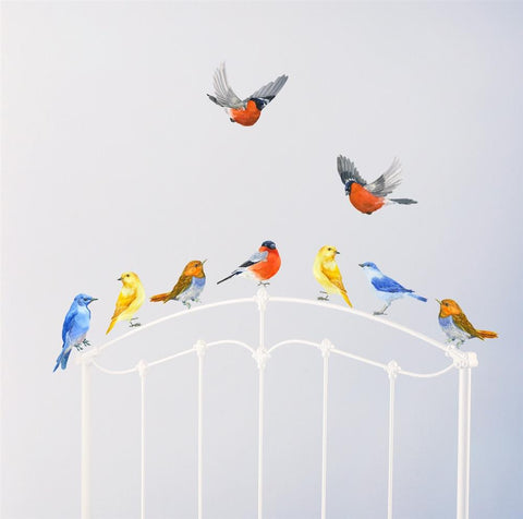 Birds Wall Decals, Birds in Flight, Birds Wall Stickers