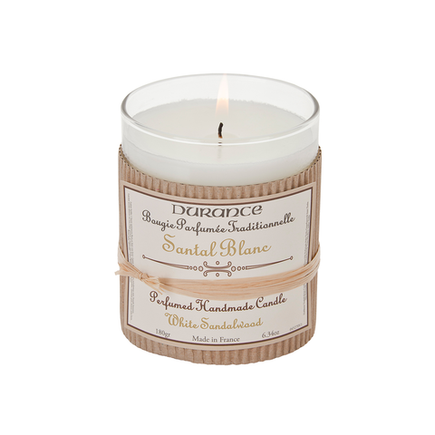 Durance Perfumed Candle 180g White Sandalwood