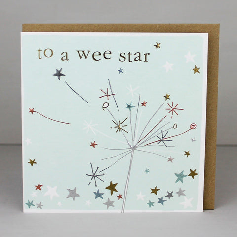 To A Wee Star Card