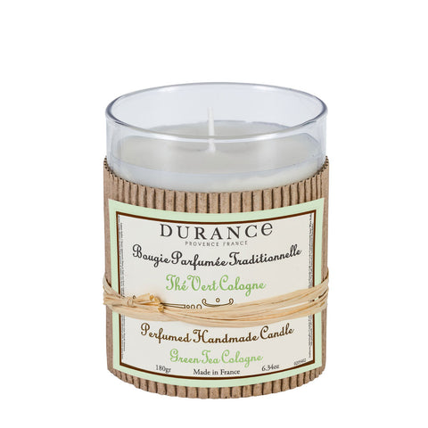 Durance Perfumed Candle 180g Green Tea Cologne