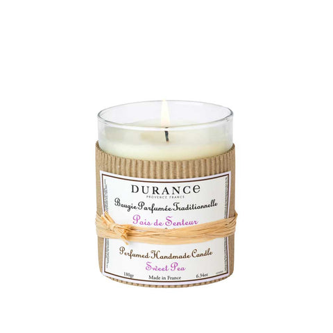 Durance Perfumed Candle 180g Sweet Pea