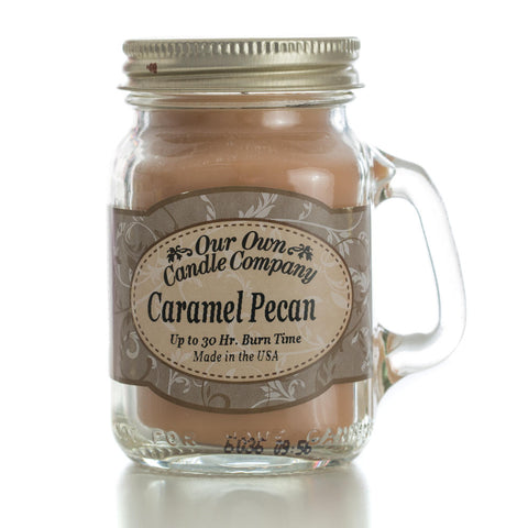 Caramel Pecan Mini Mason Jar Candle