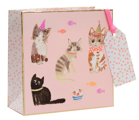 Small Cats Whiskers Gift Bag