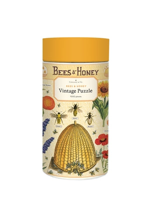 Bees & Honey Vintage Jigsaw Puzzle