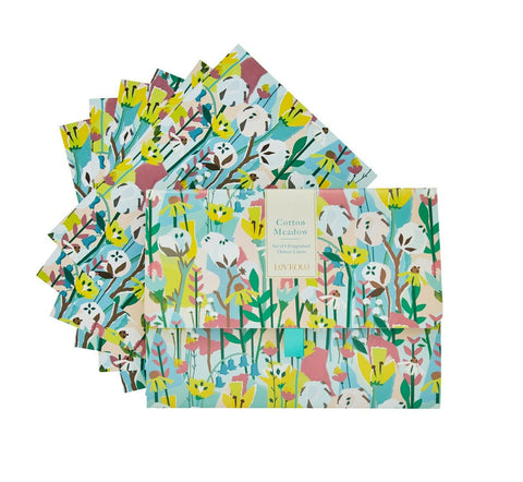 Cotton Meadow Scented Drawer Liners
