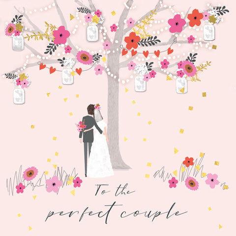 To the Perfect Couple Wedding Card