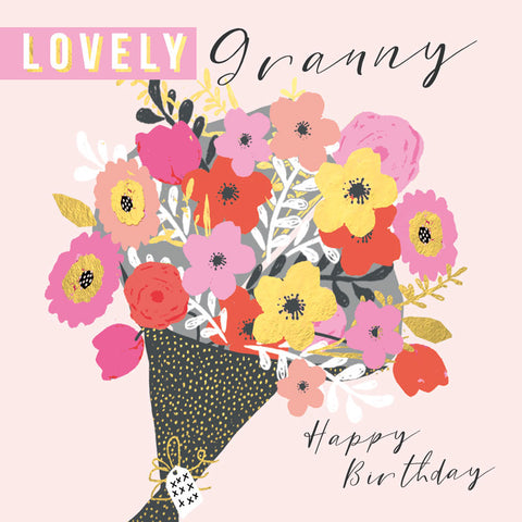 Lovely Granny Birthday Card