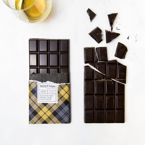 Dark Chocolate Bar with Malt Whisky
