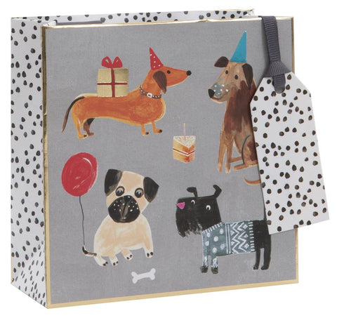 Small Dog Tails Gift Bag