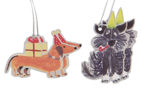 Tails & Whiskers Doggy Gift Tags Pack of 4