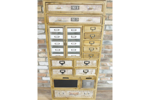 Large Apothecary Style Cabinet