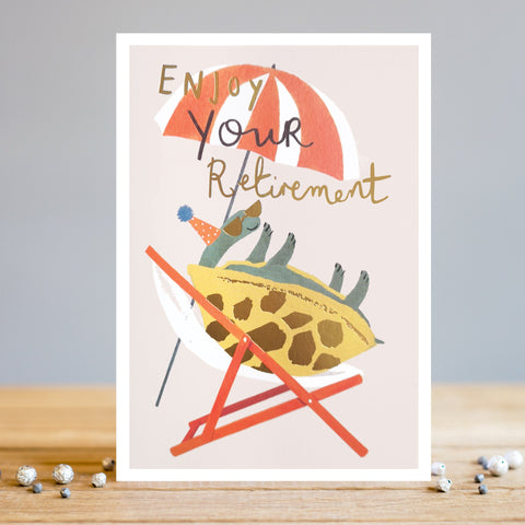 Tortoise Retirement Card