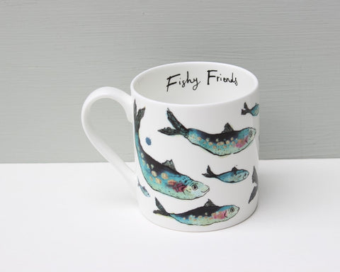 Anna Wright Fishy Friends Mug