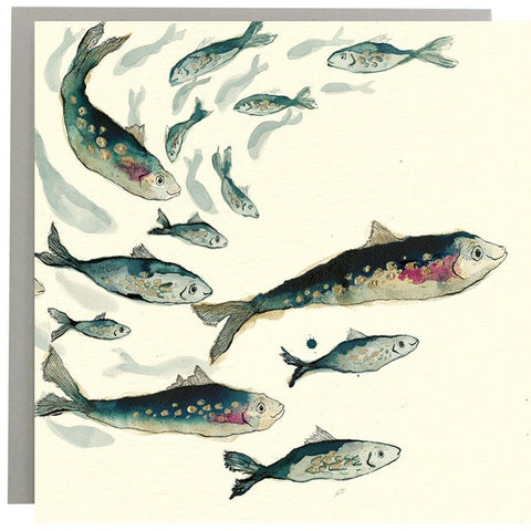 Fishy Friends Greeting Card