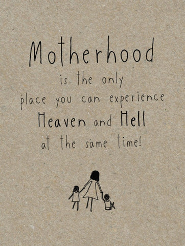 Funny Motherhood Card