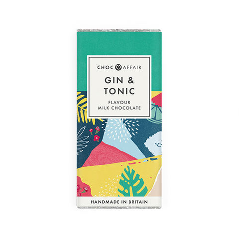 Gin & Tonic Flavoured Milk Chocolate Bar