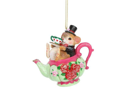 Doormouse in Teapot Decoration
