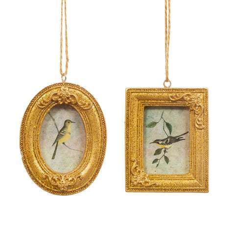 GOLD MINI HANGING PHOTO FRAME ASSORTED