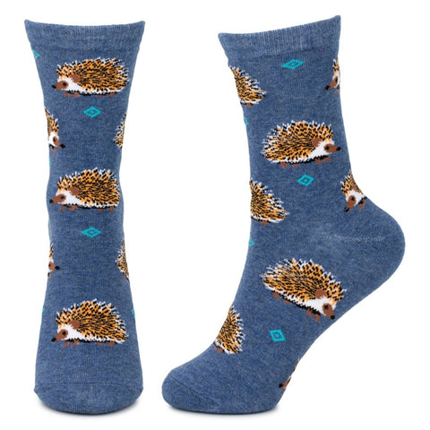 Hedgehog Friends Ladies Socks