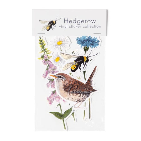 HEDGEROW VINYL STICKER PACK