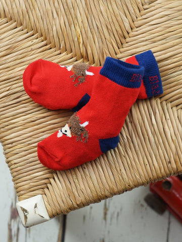 Highland Cow Baby/Kids Socks