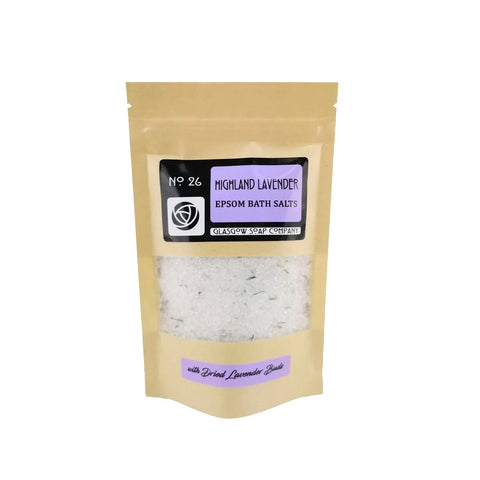 Highland Lavender Scottish Bath Salts