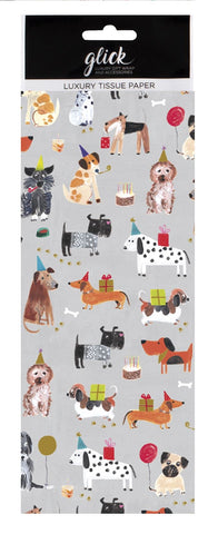 Tails & Whiskers Dog Tissue Paper Pack
