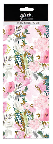Summer Flowers Pattern Tissue Paper Pack
