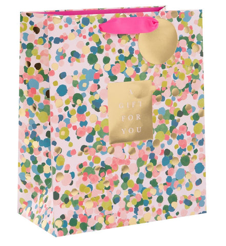 Colourful Confetti Gift Bag Large