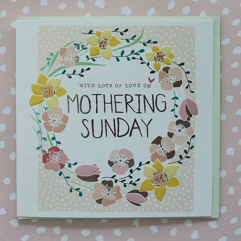 Lots of Love on Mothering Sunday Card