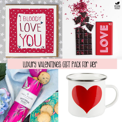 Luxury Valentines Gift Pack For Her