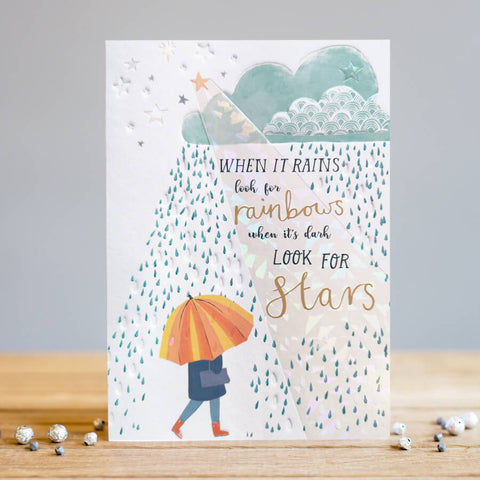 Rainbows & Stars Beautiful Message Card
