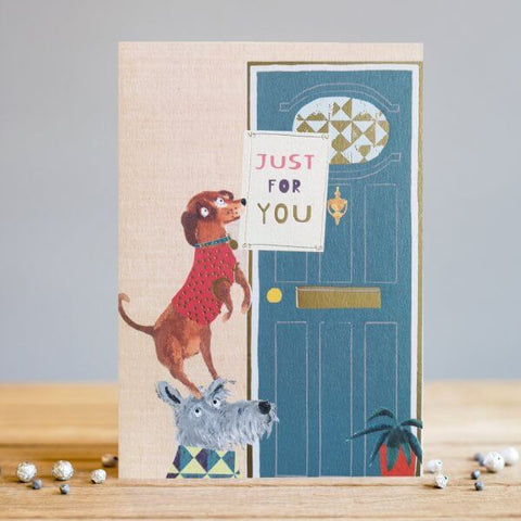 Just for You Blank Doggy Card