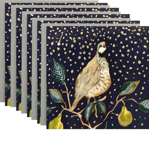 Partridge in a Pear Tree Pack of 5 Cards by Anna Wright