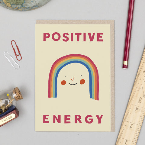 Positive Energy Inspirational Card
