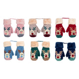 Rudolph Cosy Kids Mittens Assorted