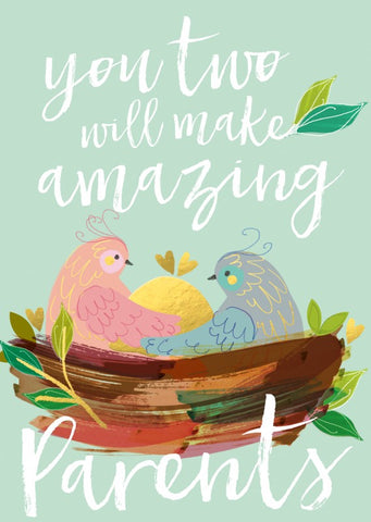 You 2 Will make Amazing Parents Card
