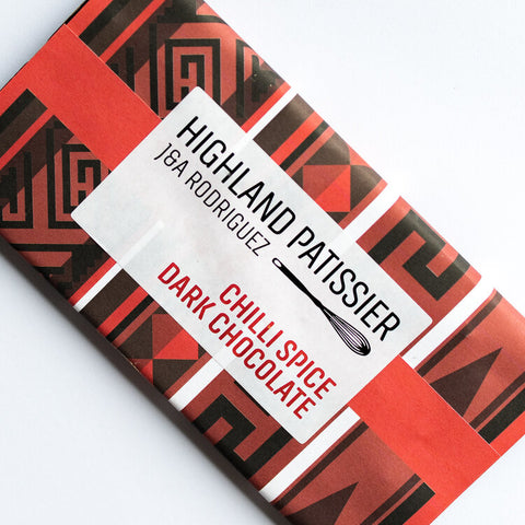 Handmade Scottish Dark Chocolate With Chilli