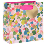 Small Colourful Confetti Print Gift Bag