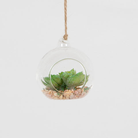SUCCULENT PLANT OPEN BAUBLE