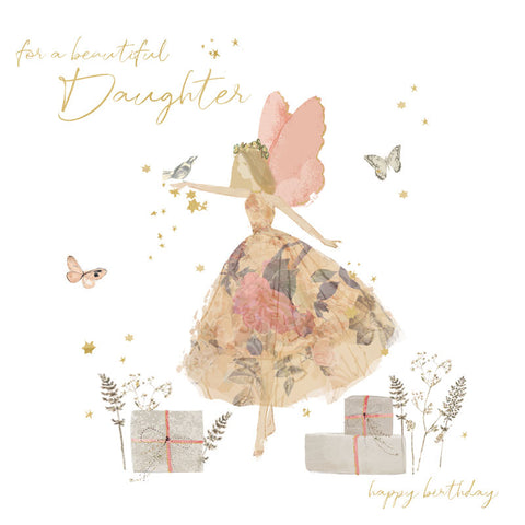 For a Beautiful Daughter Card