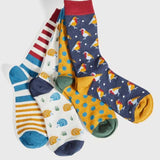 Ladies Bamboo Socks Robin Navy