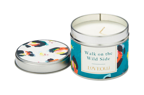Walk on the Wild Side Scented Tin Candle