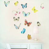 Watercolour Butterflies Wall Decals