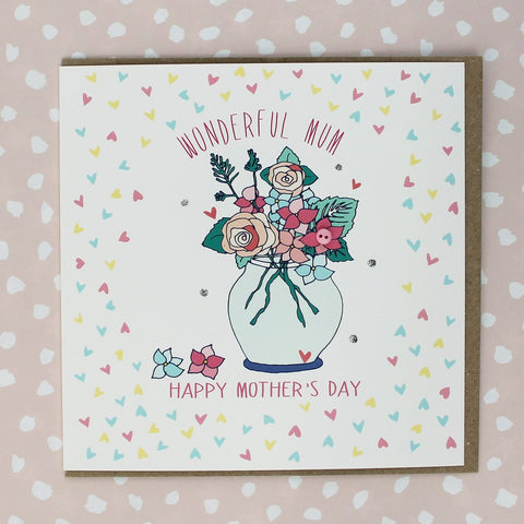 Wonderful Mum Mothers Day Card