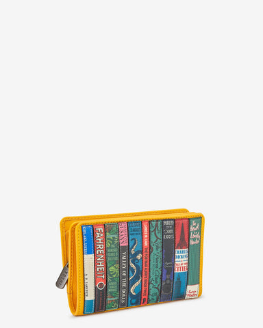 BOOKWORM YELLOW LEATHER OXFORD PURSE