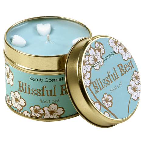 Blissful Rest Scented Tin Candle