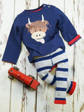Blade & Rose Highland Cow Baby Top